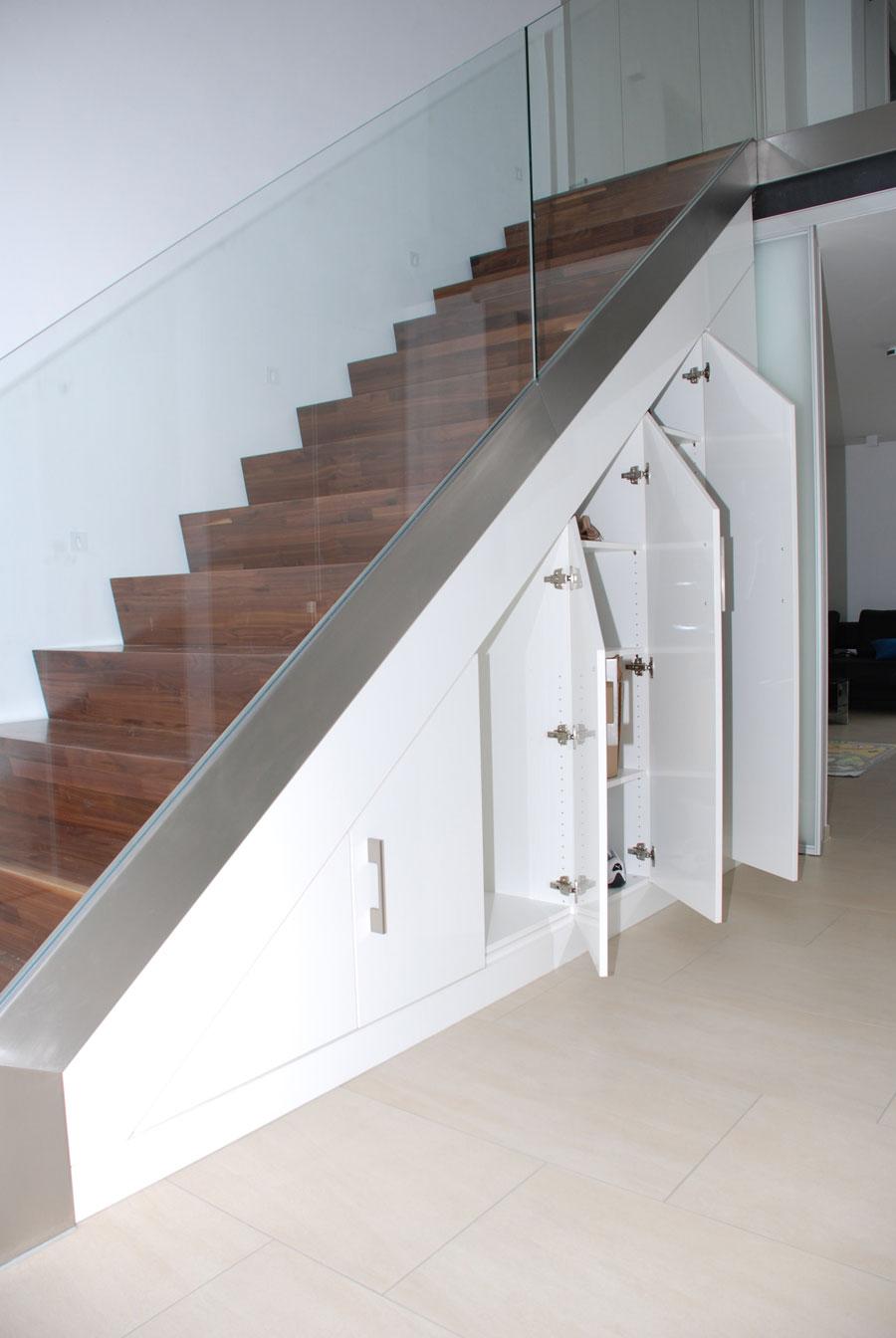 archicad wand unter treppe schneiden