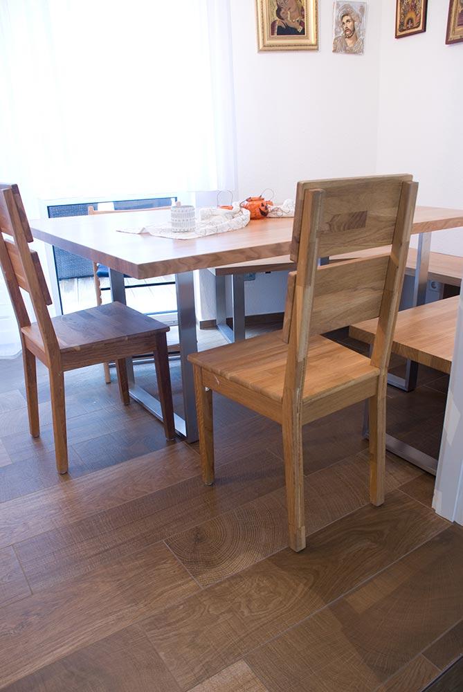 tisch und bank. Black Bedroom Furniture Sets. Home Design Ideas