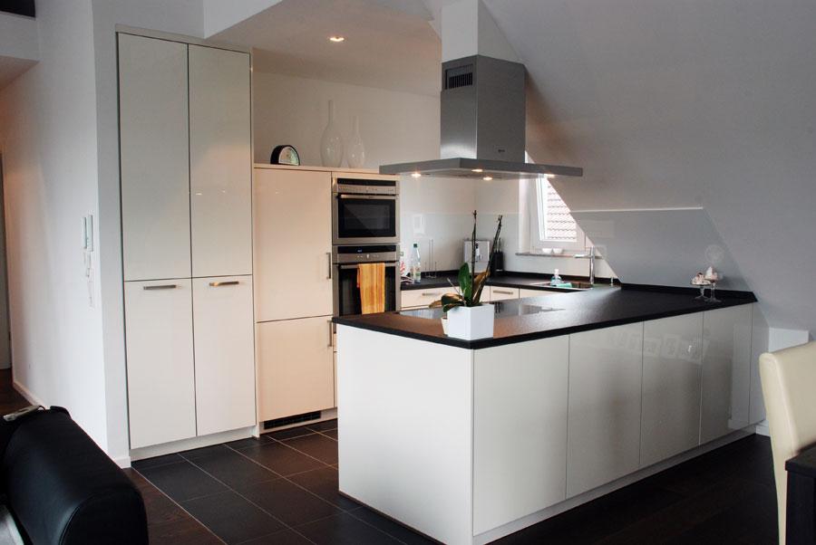 Fesselnd Küche In Weiß, Hochglanz