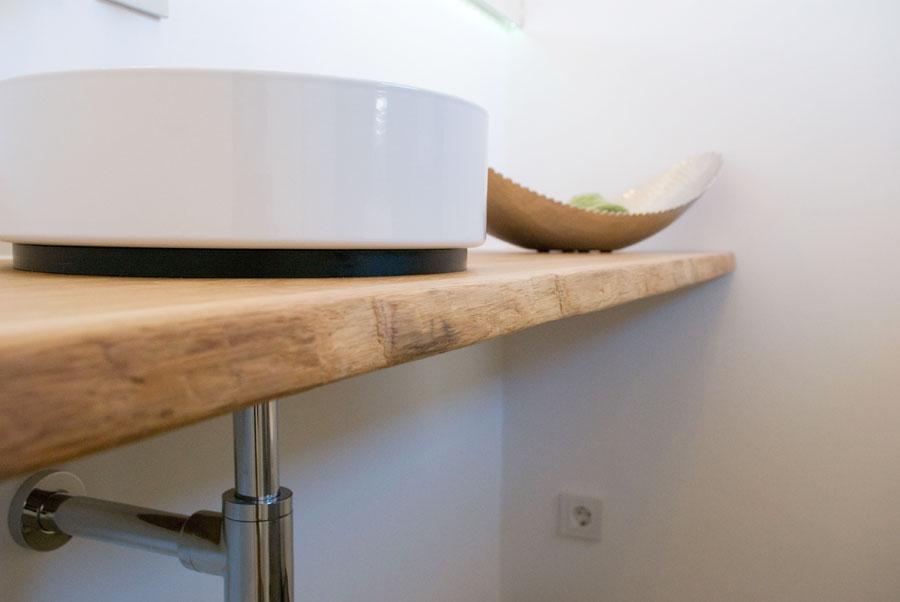 Grifflose Küche in Hochglanz Weiß