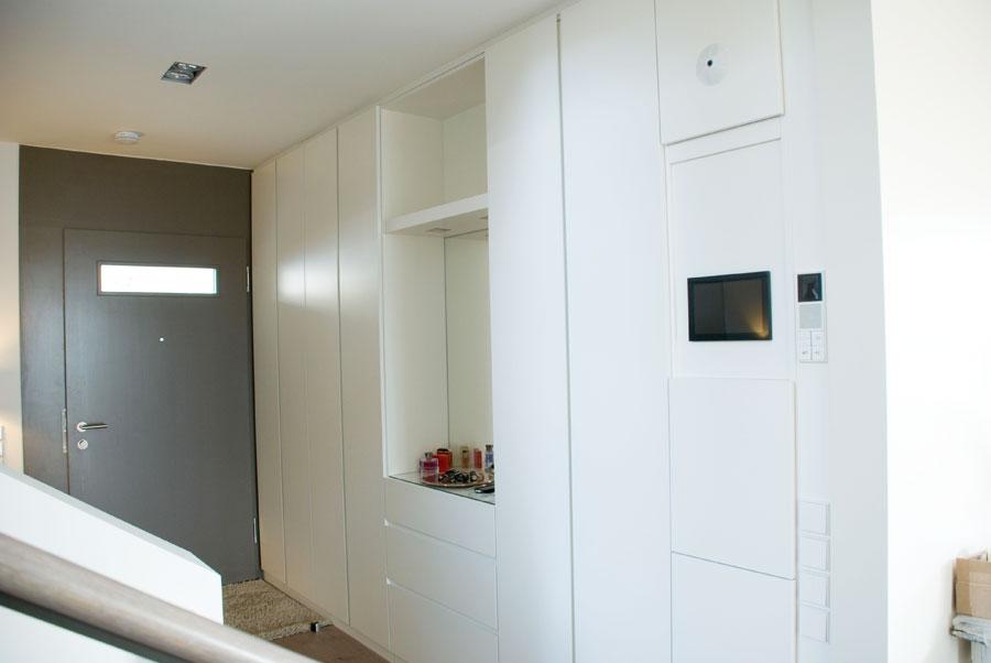 küche in hochglanz mit mittelblock - Küche Mittelblock