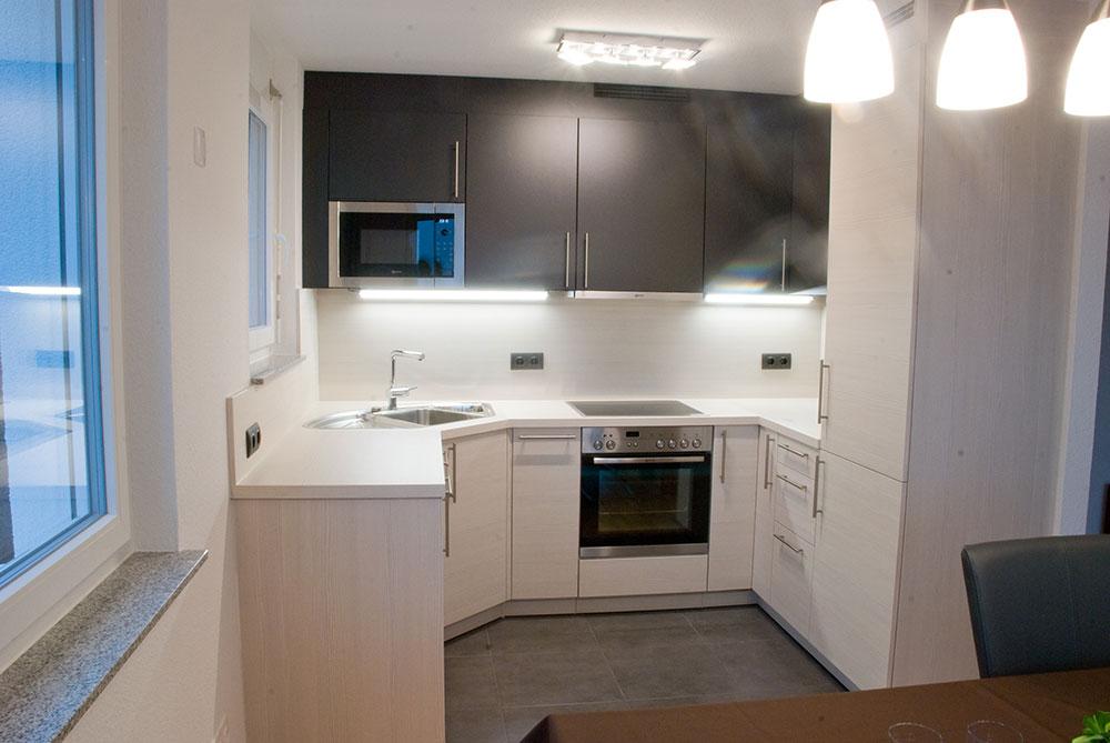 k chenniesche in dunkelgrau und holznachbildung. Black Bedroom Furniture Sets. Home Design Ideas