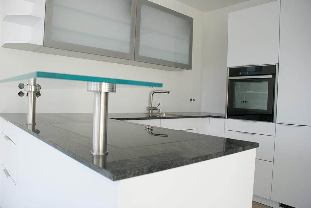 Offene Küche auf kleinstem Raum