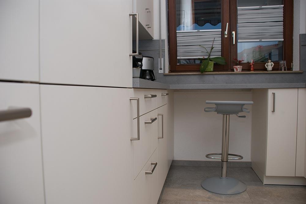 Küche auf engstem Raum