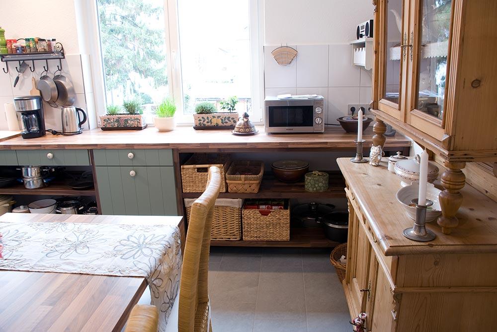 Küche im Vintage-Style