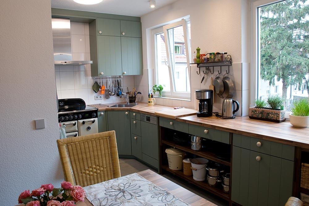 GroB Vintage Küche