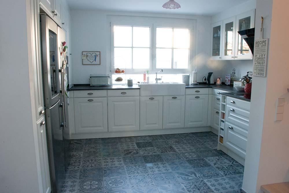 Landhausküche In Weiss