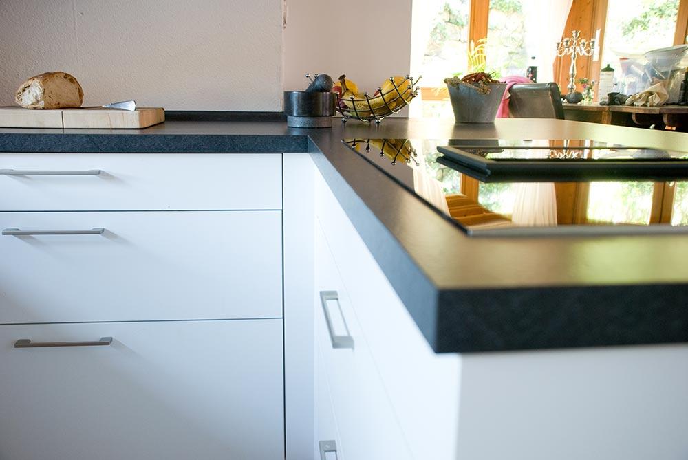 Steinplatte Kche. Top Medium Size Of Kuche Grau Orange Steinplatte ...